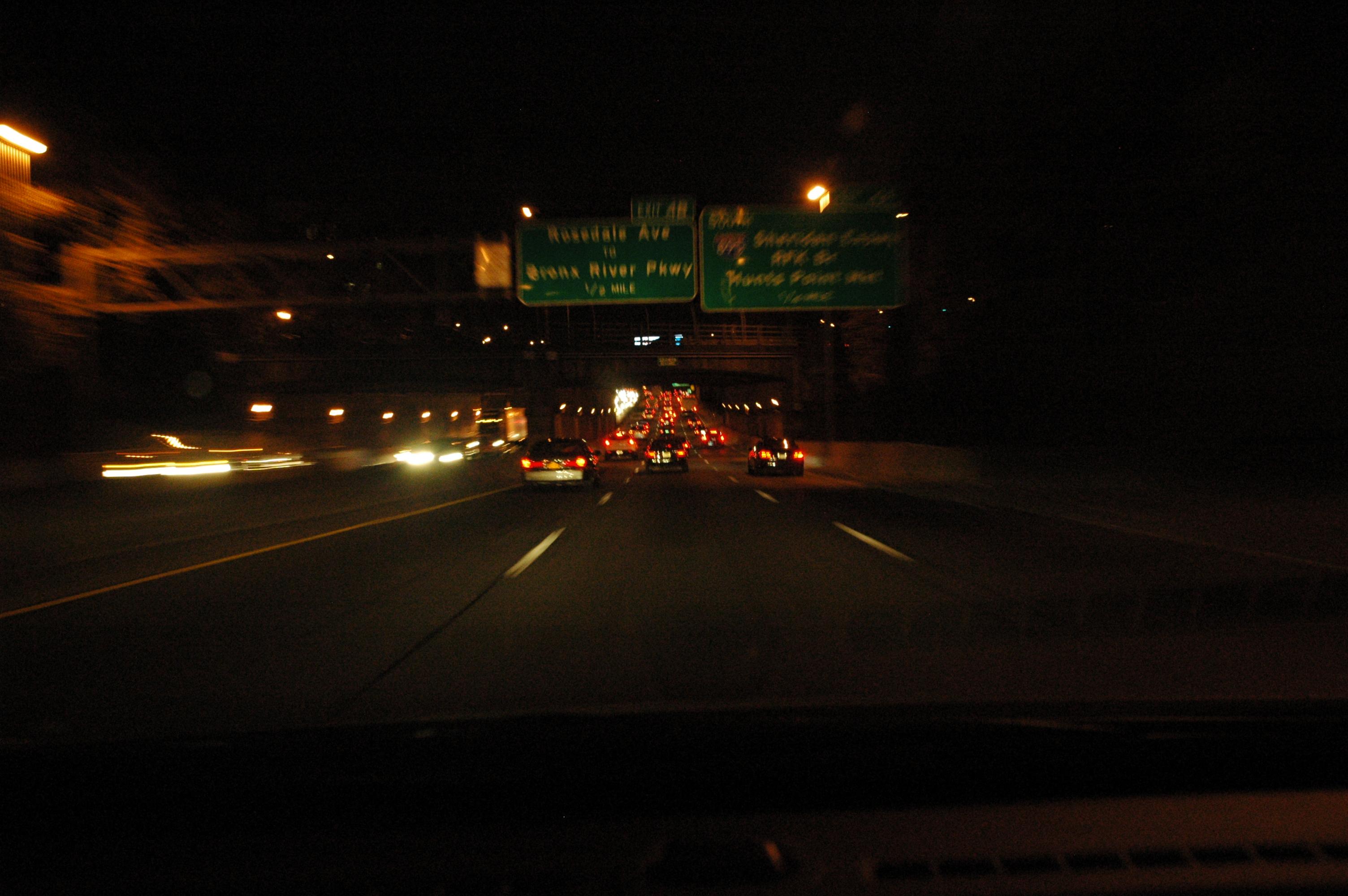 Cross Bronx Expressway, Night | Interstate Interstitial